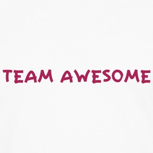 Team Awesome T-shirts - Herre premium T-shirt med lange ærmer
