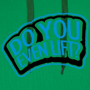 Do You Even Lift Stamp T-shirts - Premiumluvtröja herr