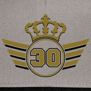 30 Logo Tee shirts - Casquette snapback