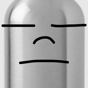 Sad Face T-Shirts - Water Bottle