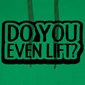 Do You Even Lift Design T-shirts - Premiumluvtröja herr
