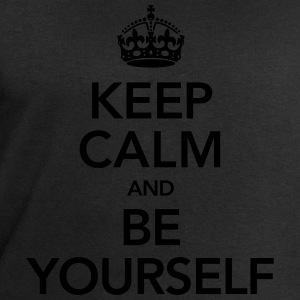 Keep Calm And Be Yourself Tee shirts - Sweat-shirt Homme Stanley & Stella