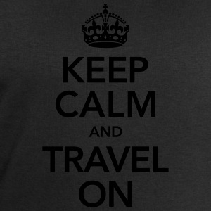Keep Calm And Travel On T-Shirts - Men's Sweatshirt by Stanley & Stella