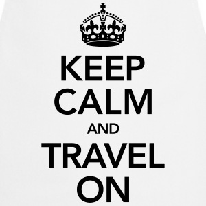 Keep Calm And Travel On T-skjorter - Kokkeforkle
