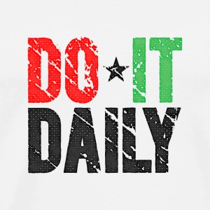 Do It Daily | Washed Out  Bouteilles et tasses - T-shirt Premium Homme