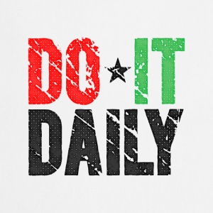 Do It Daily | Washed Out  Gorras y gorros - Delantal de cocina