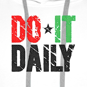 Do It Daily | Washed Out  Gorras y gorros - Sudadera con capucha premium para hombre