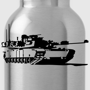 Tank M1 Abrams T-Shirts - Water Bottle