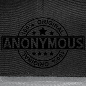 anonymous T-Shirts - Snapback Cap