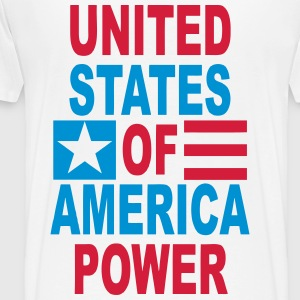 united states power Hoodies & Sweatshirts - Men's Premium T-Shirt