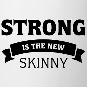 Hvid Strong Is The New Skinny T-shirts - Kop/krus