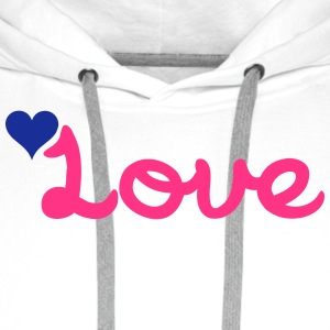 Love Phone & Tablet Cases - Men's Premium Hoodie