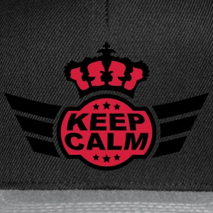 Keep Calm Camisetas - Gorra Snapback
