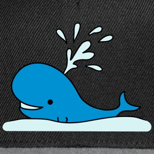 Cute Whale Tee shirts - Casquette snapback