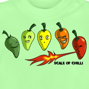 Scale of Chilli Full colour Shirts - Baby T-Shirt