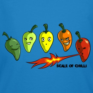Scale of Chilli Full colour Bags & backpacks - Men's Organic T-shirt