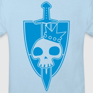 Vektor-Skulls: Kings Blade and Shield Sudaderas - Camiseta ecológica niño