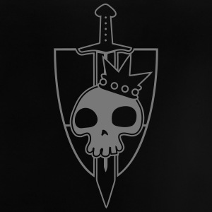 Vektor-Skulls: Kings Blade and Shield T-Shirts - Baby T-Shirt