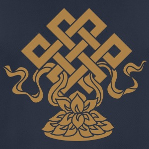 Eternal Knot, Endless, Lotus, Tibetan Buddhism, Hoodies & Sweatshirts - Men's Breathable T-Shirt