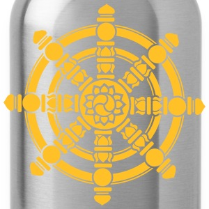 Dharma Wheel, lucky symbol, Buddhism, Chakra Hoodies & Sweatshirts - Water Bottle