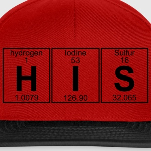 H-I-S (his) - Full T-Shirts - Snapback Cap