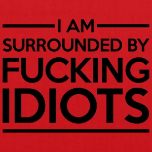 Surrounded By Idiots Tee shirts - Tote Bag