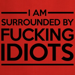 Surrounded By Idiots Bluzy - Fartuch kuchenny
