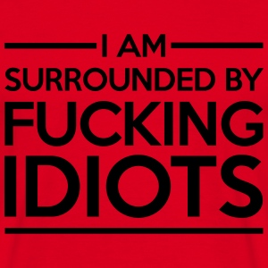 Surrounded By Idiots Sweatshirts - Herre-T-shirt