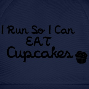 I Run So I Can Eat Cupcakes T-Shirts - Baseball Cap