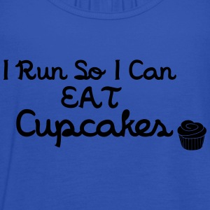 I Run So I Can Eat Cupcakes Camisetas - Camiseta de tirantes mujer, de Bella
