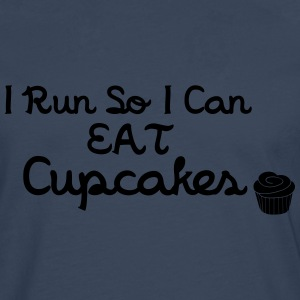 I Run So I Can Eat Cupcakes T-Shirts - Men's Premium Longsleeve Shirt