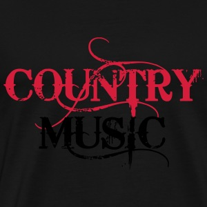 Country Music Pullover & Hoodies - Männer Premium T-Shirt
