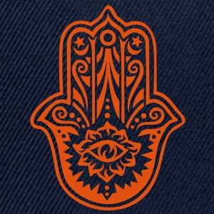 Hamsa Amulet, Hand of Fatima, Divine Protection T-Shirts - Snapback Cap