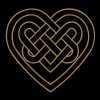 Celtic heart, endless knots, love & loyalty T-shirts - Dame premium T-shirt