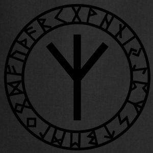 Algiz rune I rune of higher vibrations I 1c I T-skjorter - Kokkeforkle