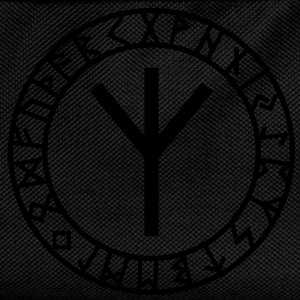 Algiz rune I rune of higher vibrations I 1c I T-Shirts - Kids' Backpack