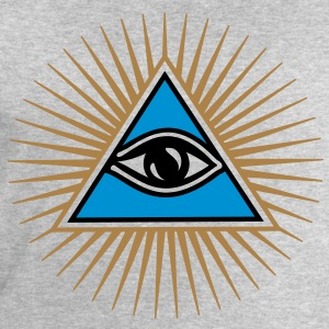 all seeing eye - eye of god - 1-3 colors - symbol of Omniscience & Supreme Being Tee shirts - Sweat-shirt Homme Stanley & Stella