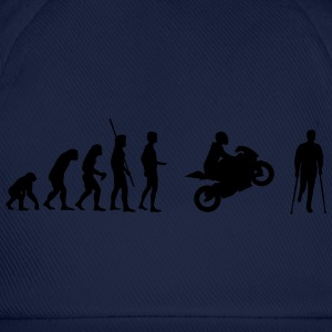 Evolución accidente de moto  Camisetas - Gorra béisbol