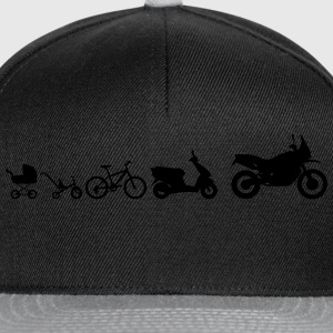 Enduro Adventure Evolution Magliette - Snapback Cap