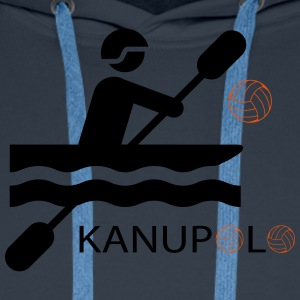 Kanupolo II Tee shirts - Sweat-shirt à capuche Premium pour hommes
