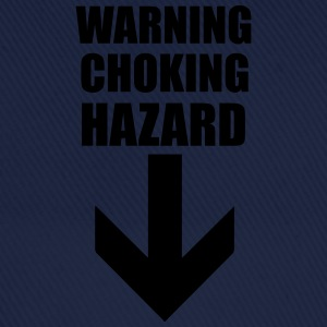 Warning Choking Hazard T-Shirts - Baseball Cap