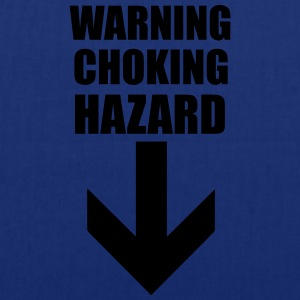 Warning Choking Hazard T-Shirts - Tote Bag