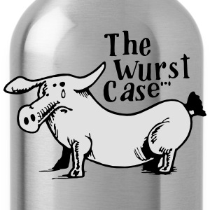 the wurst case - Trinkflasche