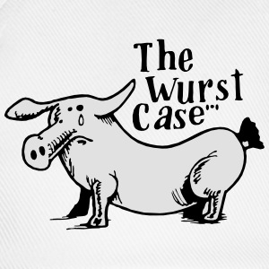 the wurst case - Baseballkappe