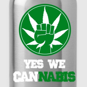 Yes we cannabis Tee shirts - Gourde