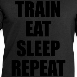 Train Eat Sleep Repeat T-shirts - Mannen sweatshirt van Stanley & Stella