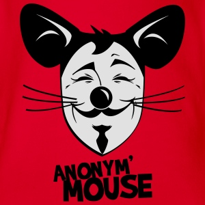 anonymouse1x Tee shirts - Body bébé bio manches courtes
