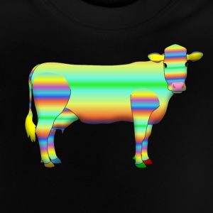 colour cow T-shirts - Baby T-shirt