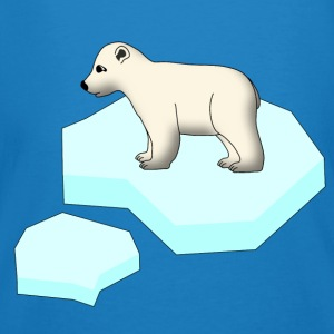 Little Polar Bear and Ice Floe Bags & backpacks - Men's Organic T-shirt