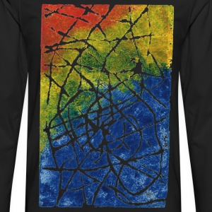 Chromatic Labyrinth Tee shirts - T-shirt manches longues Premium Homme